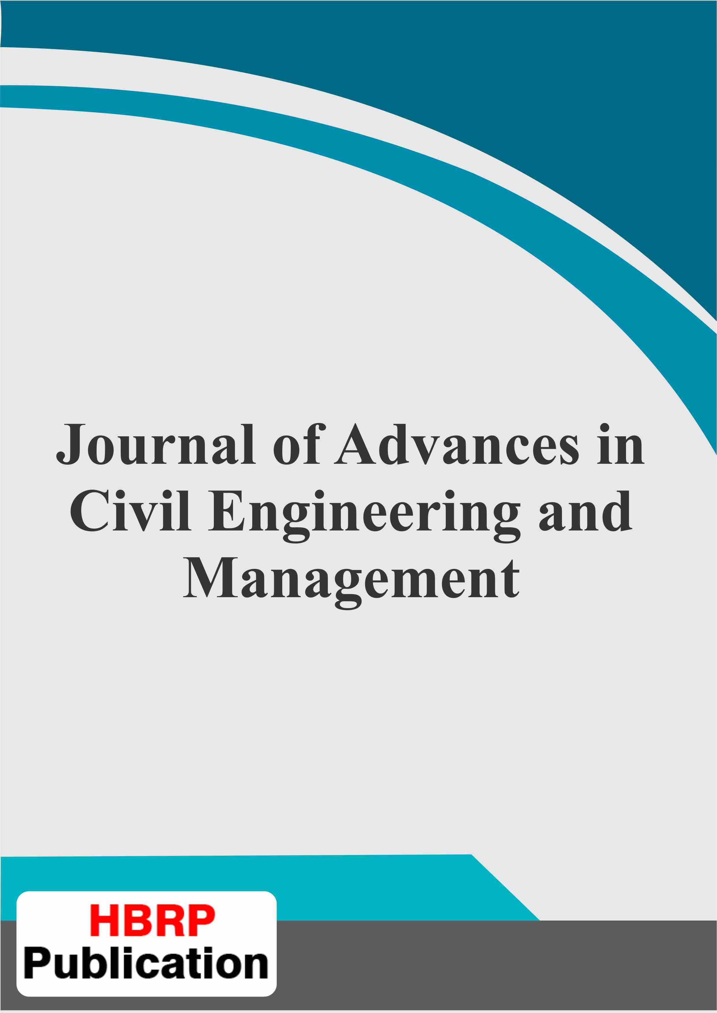 4  Journal of Advances in Civil Engineering and Management
